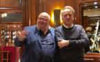 La table de Michel accueille un futur (?) Prix Goncourt !