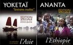 Brochures Ateliers du Voyages : 2 éditions spéciales en Asie et Ethiopie