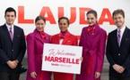 Lauda décolle vers Vienne depuis Marseille et Bordeaux