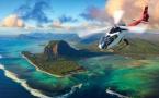 Beachcomber Tours, l'île Maurice vue du ciel