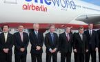 Air Berlin célèbre son intégration à OneWorld dans le nouvel aéroport de Berlin