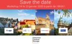 Workshop : l'Europe Centrale à l'honneur le 23 janvier 2020