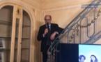 Jean-Pierre Mas, président des Entreprises du Voyage lors de la galette des rois organisée à la Maison du Tourisme - Photo EDV Facebook