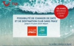 """Covid-19 : TUI lance une opération """"report sans frais"""" jusqu'à 15 jours du départ en Clubs"""