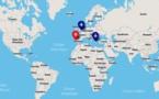 """Retrouvez la carte interactive sur le """"Tour du monde des réceptifs"""""""