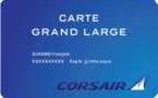 Corsair lance une carte d'abonnement pour ses passagers premium