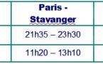 SAS : nouvelle liaison entre Paris et Stavanger le 27 août 2012