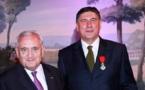 Bristol : Didier Le Calvez reçoit les insignes de Chevalier de l'Ordre National de la Légion d'Honneur