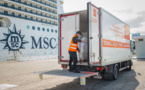 Marseille : MSC Foundation et le Club de la Croisière font don de 4 tonnes de denrées alimentaires
