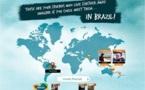 Brésil : une appli pour inviter ses amis à visiter la destination