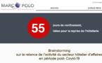 Marco Polo : « 55 jours de confinement, 55 idées pour la reprise de l'hôtellerie »