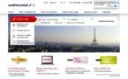 Air France : Brandimage offre une nouvelle page d'accueil au site grand public