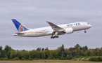 United Airlines reçoit son 1er 787 Dreamliner