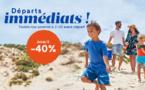 Odalys lance ses « Départs immédiats » avec des promos jusqu'à -40%
