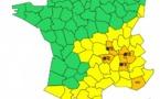 France : alerte à la neige et au verglas pour 4 départements du Centre-Est