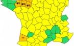 Météo France : alerte à la neige et aux crues pour 9 départements