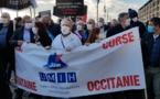 Plus de 7 000 personnes du sud se sont rendues à Marseille pour manifester - RP