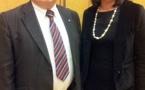 Camping : Sylvia Pinel a reçu le Président et la directrice de la FFCC