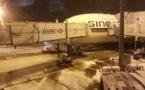 Paris : Roissy-Charles de Gaulle sous la neige ce lundi 25 février 2013