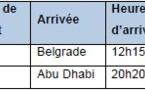 Etihad Airways : vols Abu Dhabi-Belgrade dès le 15 juin 2013