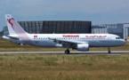 Tunisair : livraison du 5e A320 mardi 30 avril 2013 à Tunis-Carthage