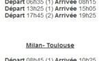 Twin Jet : vols Toulouse-Milan dès le 9 septembre 2013