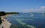 Les îles de lerins au large des côtes de Cannes / crédit DepositPhoto
