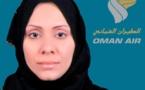 Oman Air : Gheitha Suleiman Salim Al Hony nommée chef d'escale à Abu Dhabi