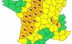 Orages : Météo France place 27 départements en vigilance orange