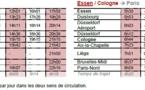 Thalys va pousser ses liaisons au départ de Paris jusqu'à Düsseldorf et Essen