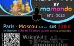 Le trajet Paris-Moscou passé à la loupe par Momondo