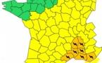 Orages : 7 départements du Sud et du Sud-Est placés en vigilance orange par Météo France