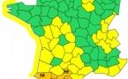 Météo France : 4 départements du Sud-Ouest en vigilance orange aux pluies