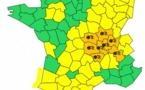 Neige : 8 départements en Auvergne, Bourgogne et Rhône-Alpes en alerte orange