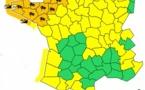 Météo France : 14 départements du Nord-Ouest en vigilance orange aux vents et à la submersion