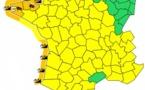Vagues et vent : Météo France place 7 départements en alerte orange