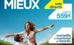 Air Transat : nouvelle campagne d'affichage en province