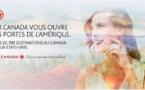Air Canada : campagne de publicité Web, papier et affichage pour la rentrée 2014