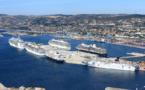 Marseille : 7 navires et 15 000 croisièristes lundi 22 septembre 2014 !