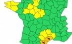 Orages : l'Aude, l'Hérault et les Pyrénées-Orientales en vigilance orange