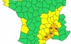 Pluies orageuses : l'Ardèche, le Gard, l'Hérault et la Drôme en vigilance orange
