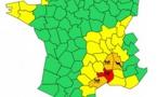 Inondations : le Gard placé en alerte rouge par Météo France