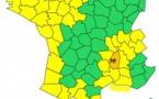 Pluies : l'Ardèche en alerte orange
