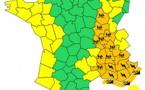 Pluies et orages : 15 départements en vigilance orange mardi 4 novembre 2014