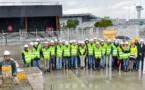 Aéroport de Bordeaux : les travaux de fondation de l'extension de billi ont débuté