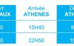 Aegean Airlines : 2 vols hebdomadaires entre Bordeaux et Athènes pour l'Été 2014