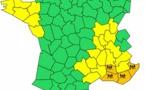Pluies-inondations : 4 départements de PACA en vigilance orange