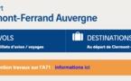Aéroport de Clermont-Ferrand : 425 000 passagers en 2014