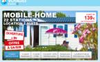 Mobil-Home : Leclerc Voyages vendra entre 12 et 14 000 semaines de location en 10 jours !
