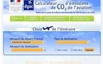La DGAC met en ligne son calculateur d'émissions de CO2